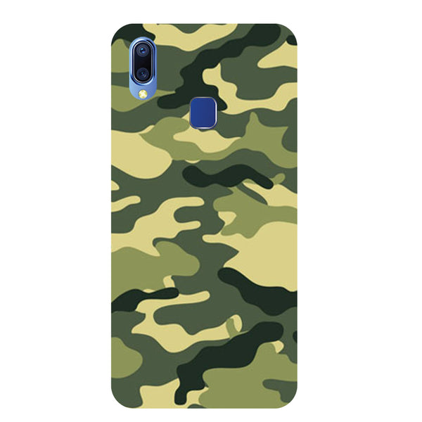 Camouflage Vivo Y93 Back Cover-Hamee India