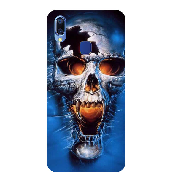 Skull Vivo Y95 Back Cover-Hamee India