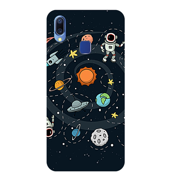 Space Vivo Y95 Back Cover-Hamee India