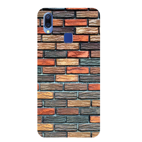 Brick Wall Vivo Y95 Back Cover-Hamee India