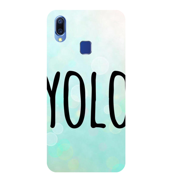 YOLO Vivo Y93 Back Cover-Hamee India