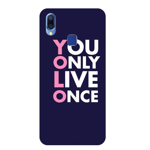 You Only Vivo Y93 Back Cover-Hamee India