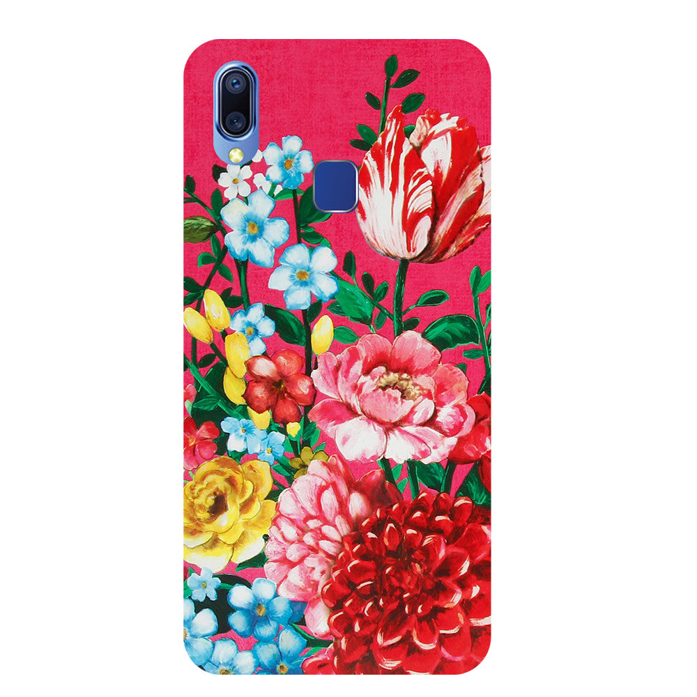 Flower Blush Vivo Y93 Back Cover-Hamee India