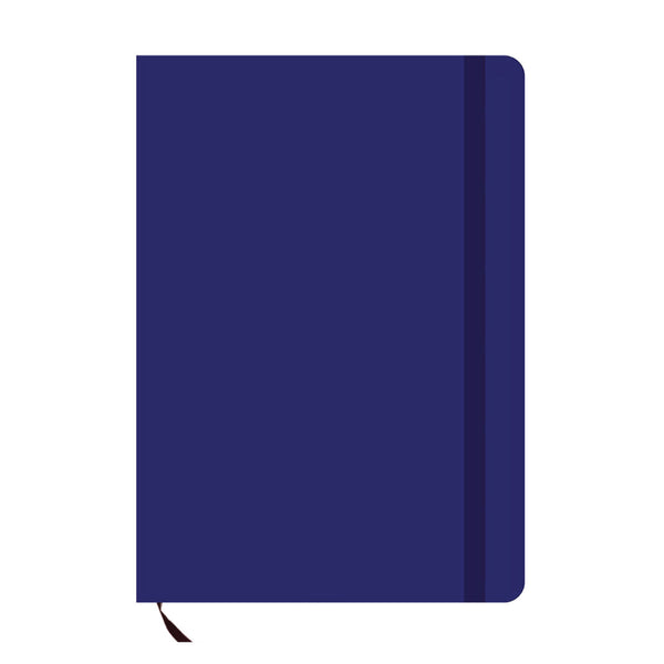 Navy Blue A6 Pocket Diary-Hamee India
