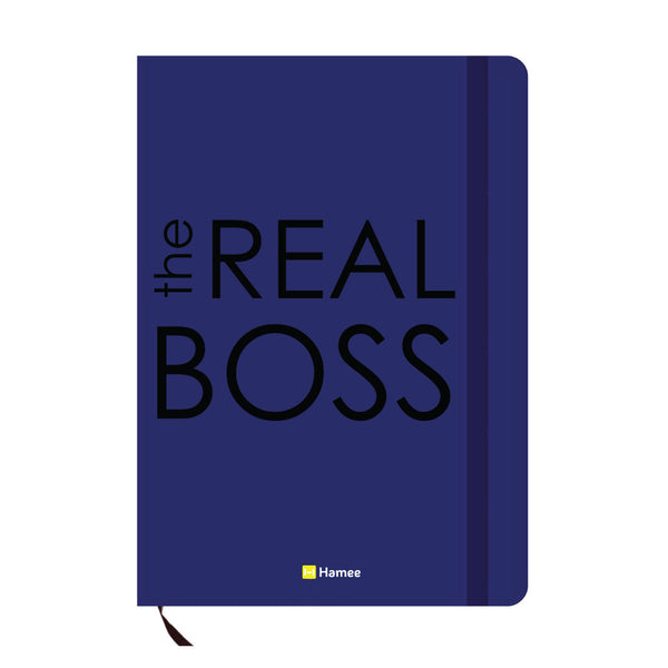 Real Boss Blue A6 Pocket Diary-Hamee India