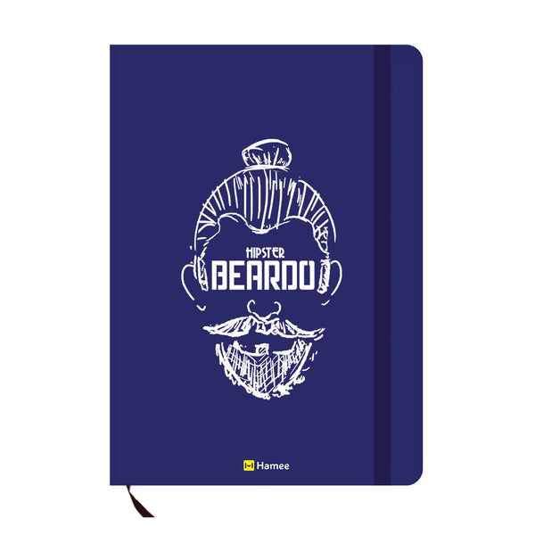 Beardo Blue A6 Pocket Diary-Hamee India