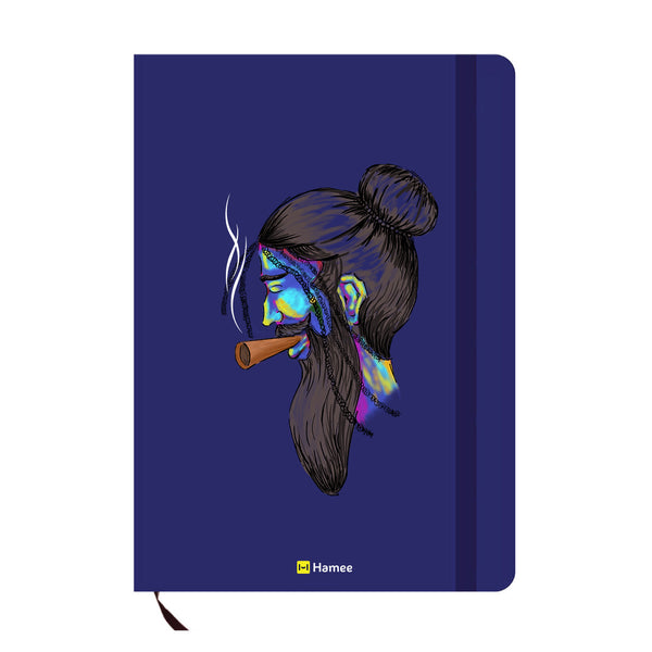 Cool Beard Blue A6 Pocket Diary-Hamee India