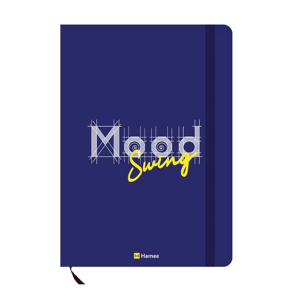 Mood Blue A6 Pocket Diary-Hamee India