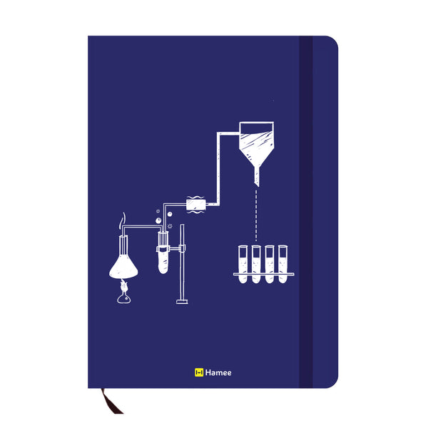 Chemistry Blue A6 Pocket Diary-Hamee India