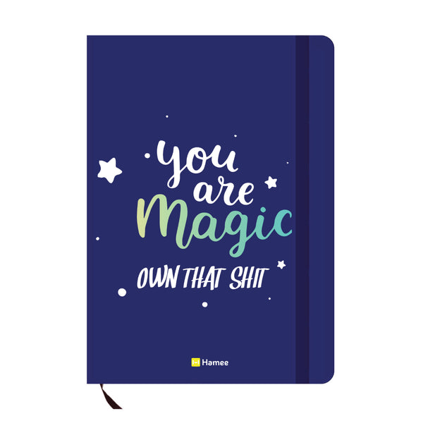 Magic Blue A6 Pocket Diary-Hamee India