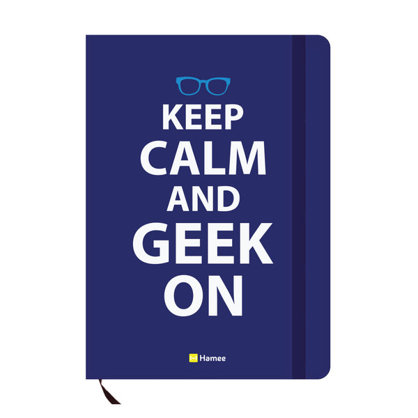 Geek Blue A6 Pocket Diary-Hamee India