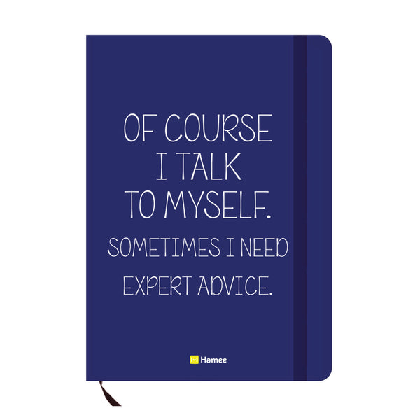 Advice Blue A6 Pocket Diary-Hamee India