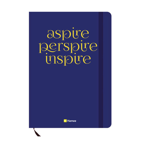 Aspire Blue A6 Pocket Diary-Hamee India