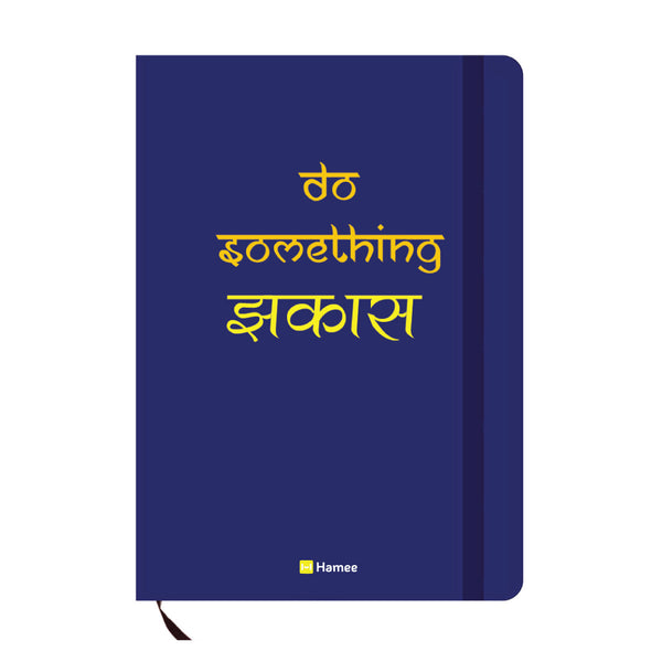 Jhakaas Blue A6 Pocket Diary-Hamee India