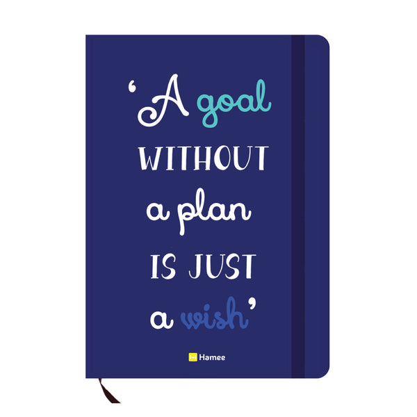 Goal Blue A6 Pocket Diary-Hamee India