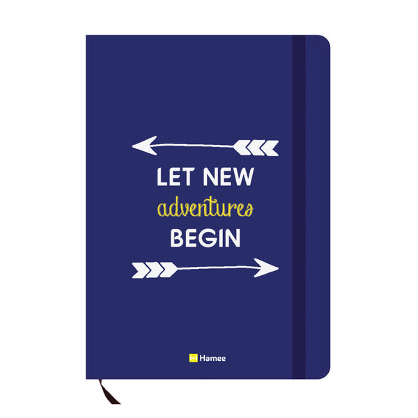 Adventures Blue A6 Pocket Diary-Hamee India