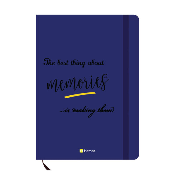 Memories Blue A6 Pocket Diary-Hamee India
