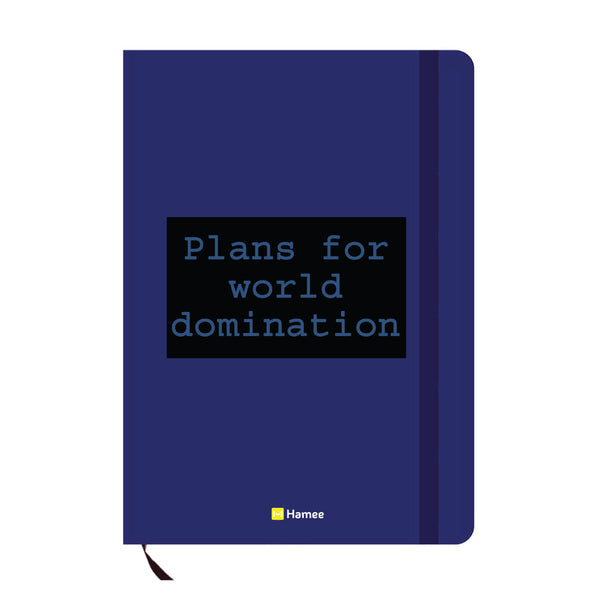 Plans Blue A6 Pocket Diary-Hamee India