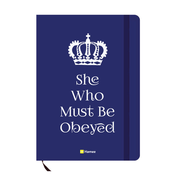 Obeyed Blue A6 Pocket Diary-Hamee India