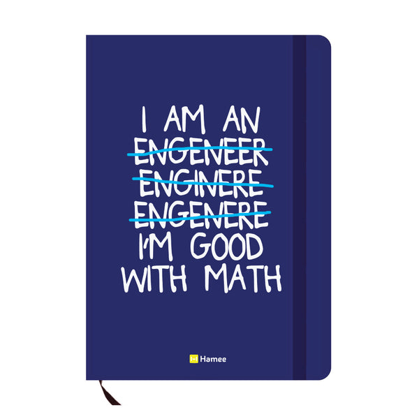 Engineer Blue A6 Pocket Diary-Hamee India