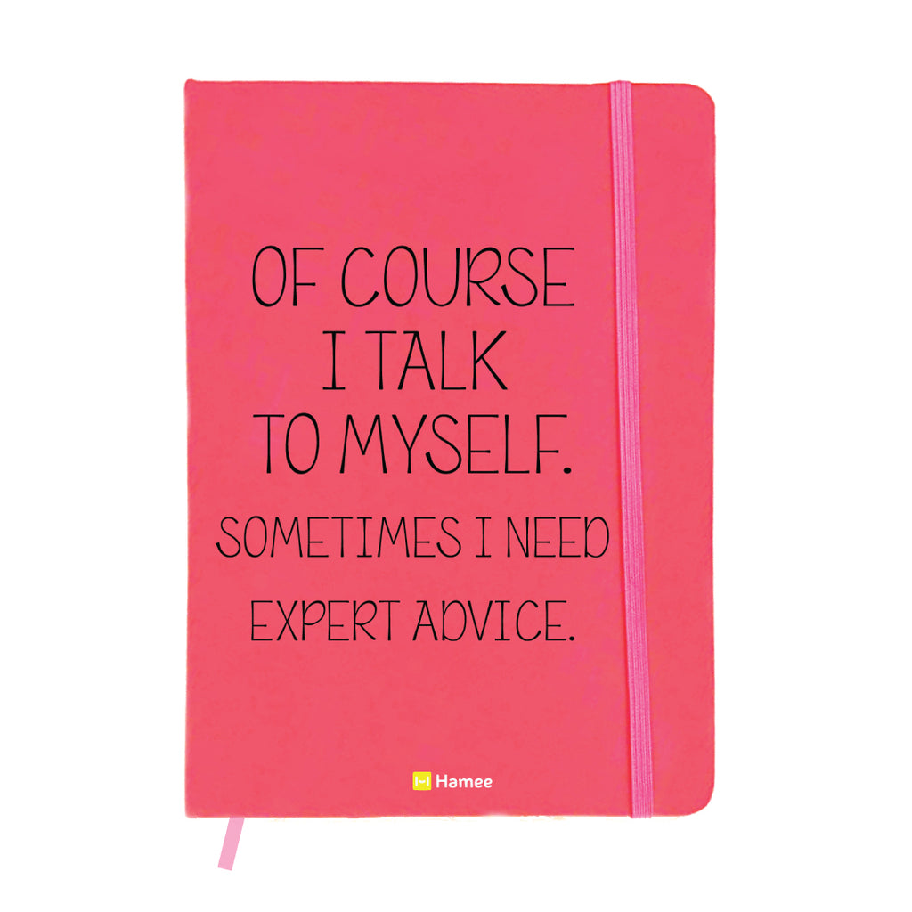 Advice Pink A6 Pocket Diary-Hamee India