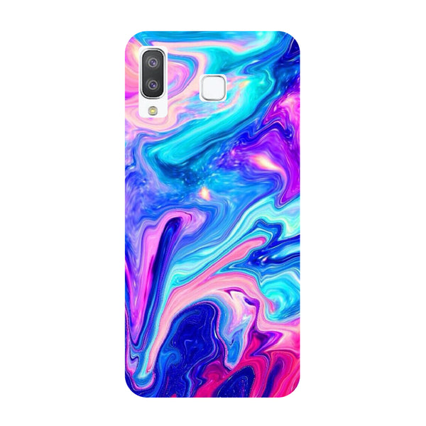 Abstract Marble Samsung Galaxy A8 Star Back Cover-Hamee India