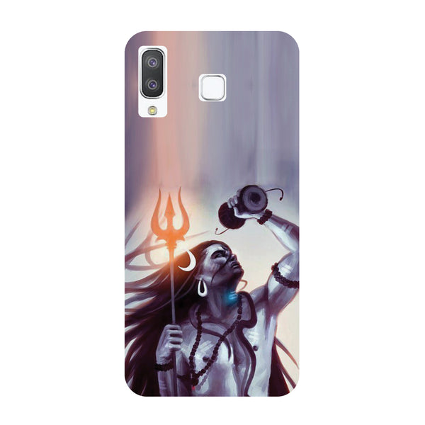 Purple Shiva Samsung Galaxy A8 Star Back Cover-Hamee India