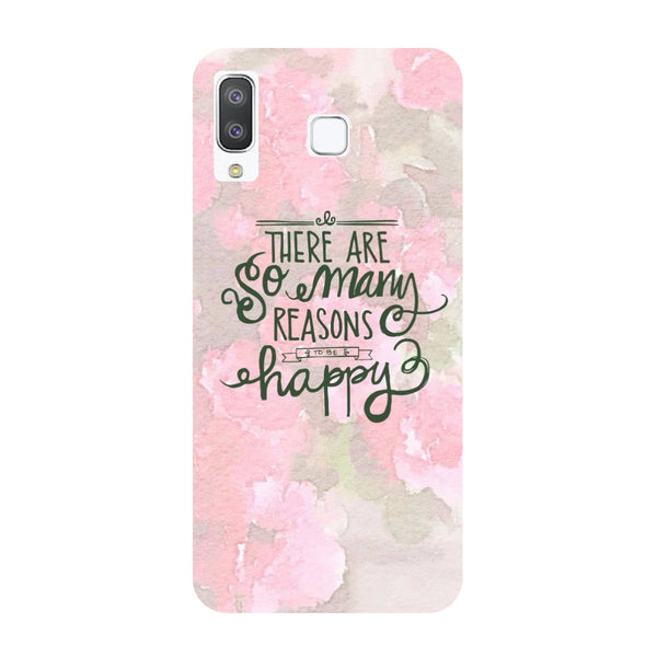 Happy Reasons Samsung Galaxy A8 Star Back Cover-Hamee India