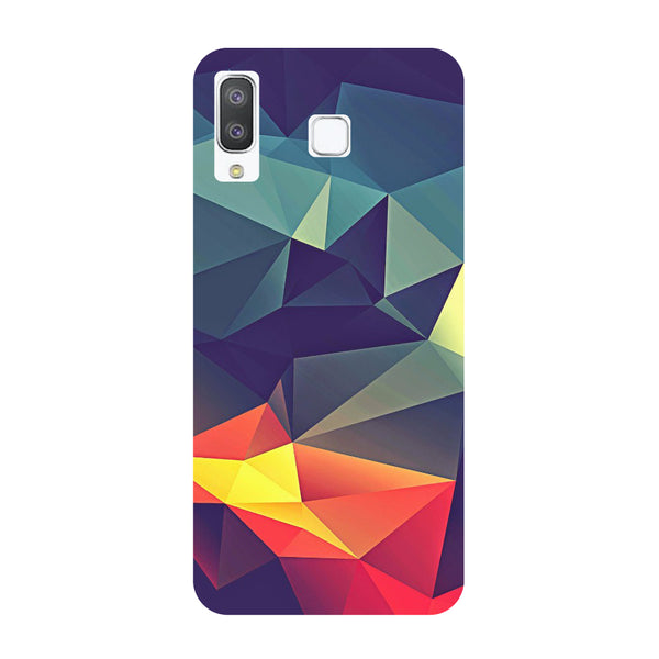 Abstract Samsung Galaxy A8 Star Back Cover-Hamee India