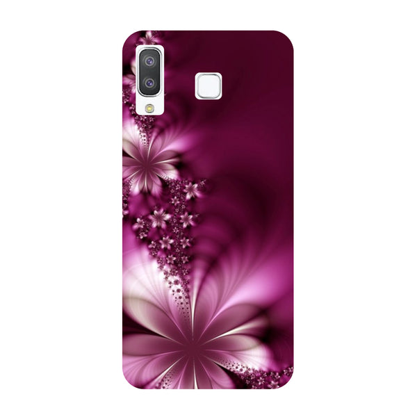 Purple Flowers Samsung Galaxy A8 Star Back Cover-Hamee India