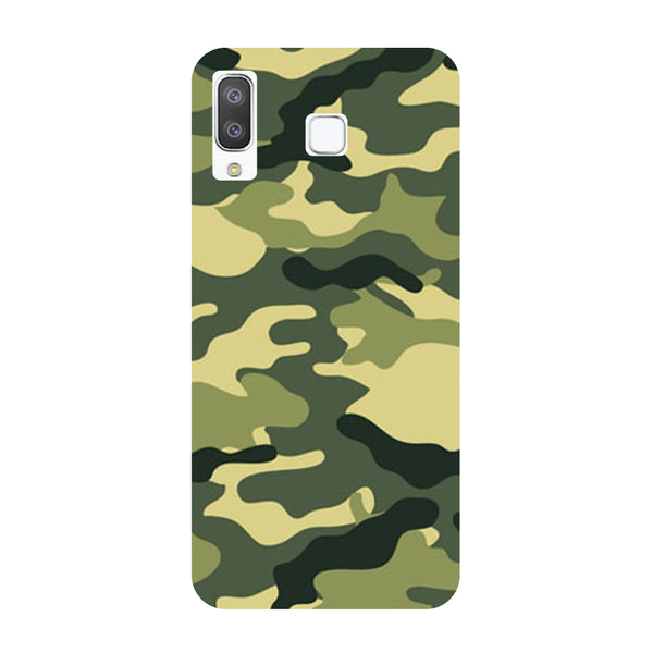 Camouflage Samsung Galaxy A8 Star Back Cover-Hamee India