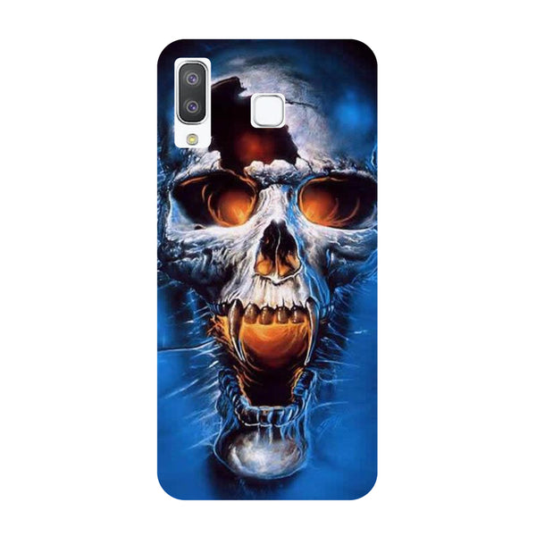 Scary Skull Samsung Galaxy A8 Star Back Cover-Hamee India