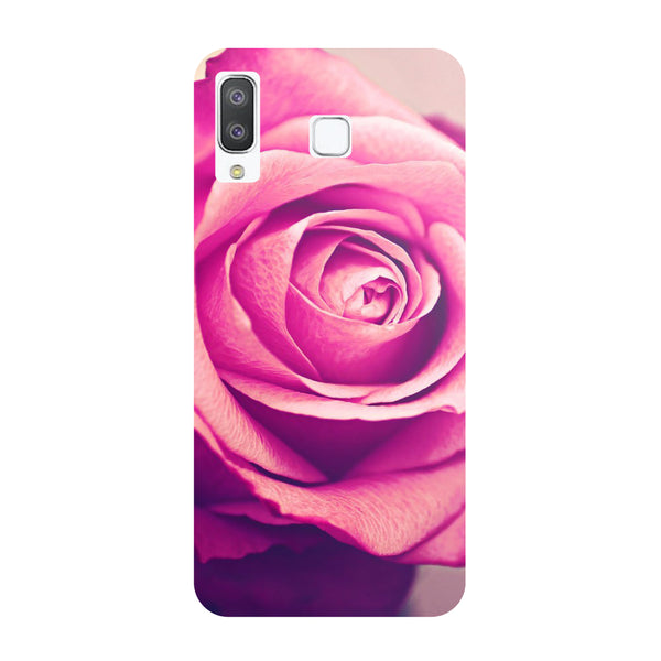 Pink Rose Samsung Galaxy A8 Star Back Cover-Hamee India