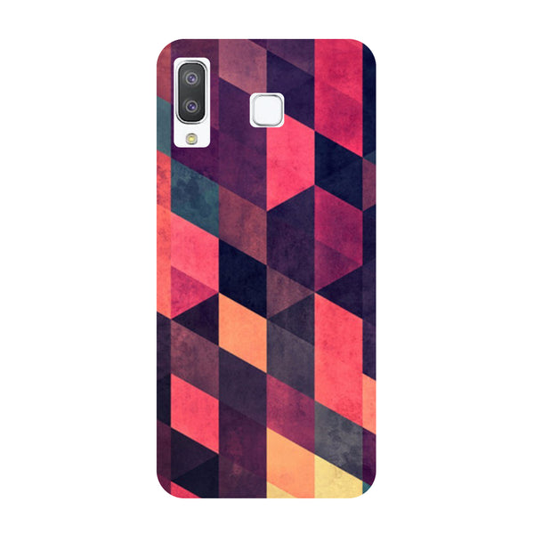 Pink Abstract Samsung Galaxy A8 Star Back Cover-Hamee India