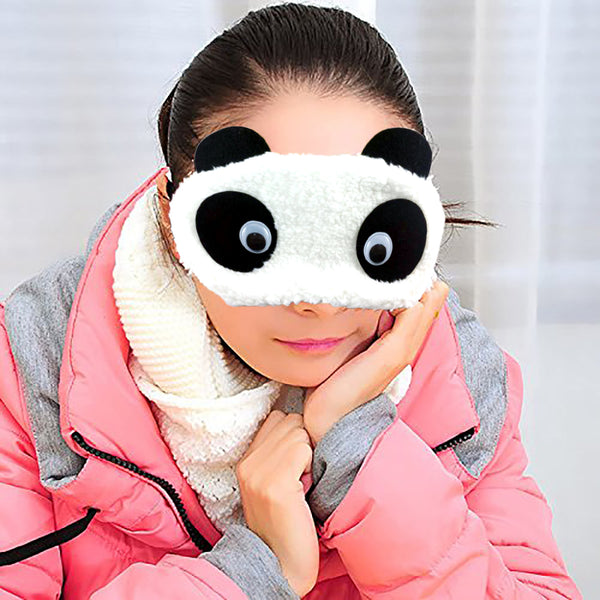 Plush Eye Mask - Surprised-Hamee India