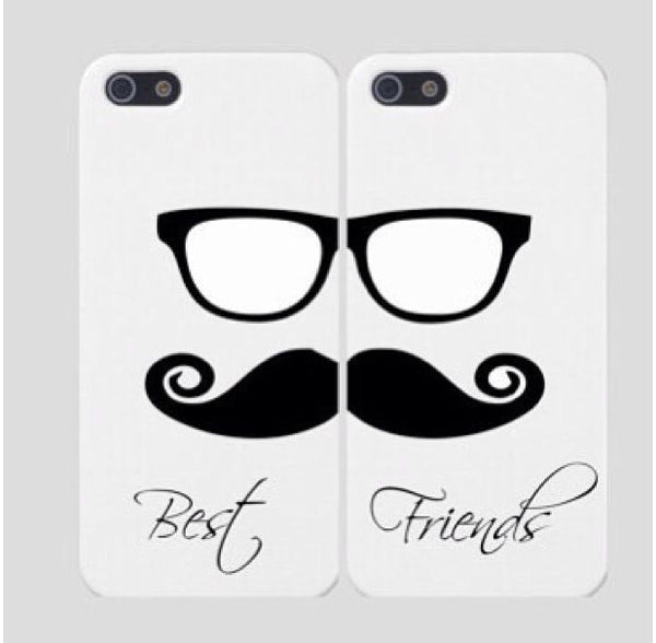 "Hamee Back Cover for Oppo F1s "" Best Friends Mouchie Love Special pack of Two Combo 5 "" - Hamee India"