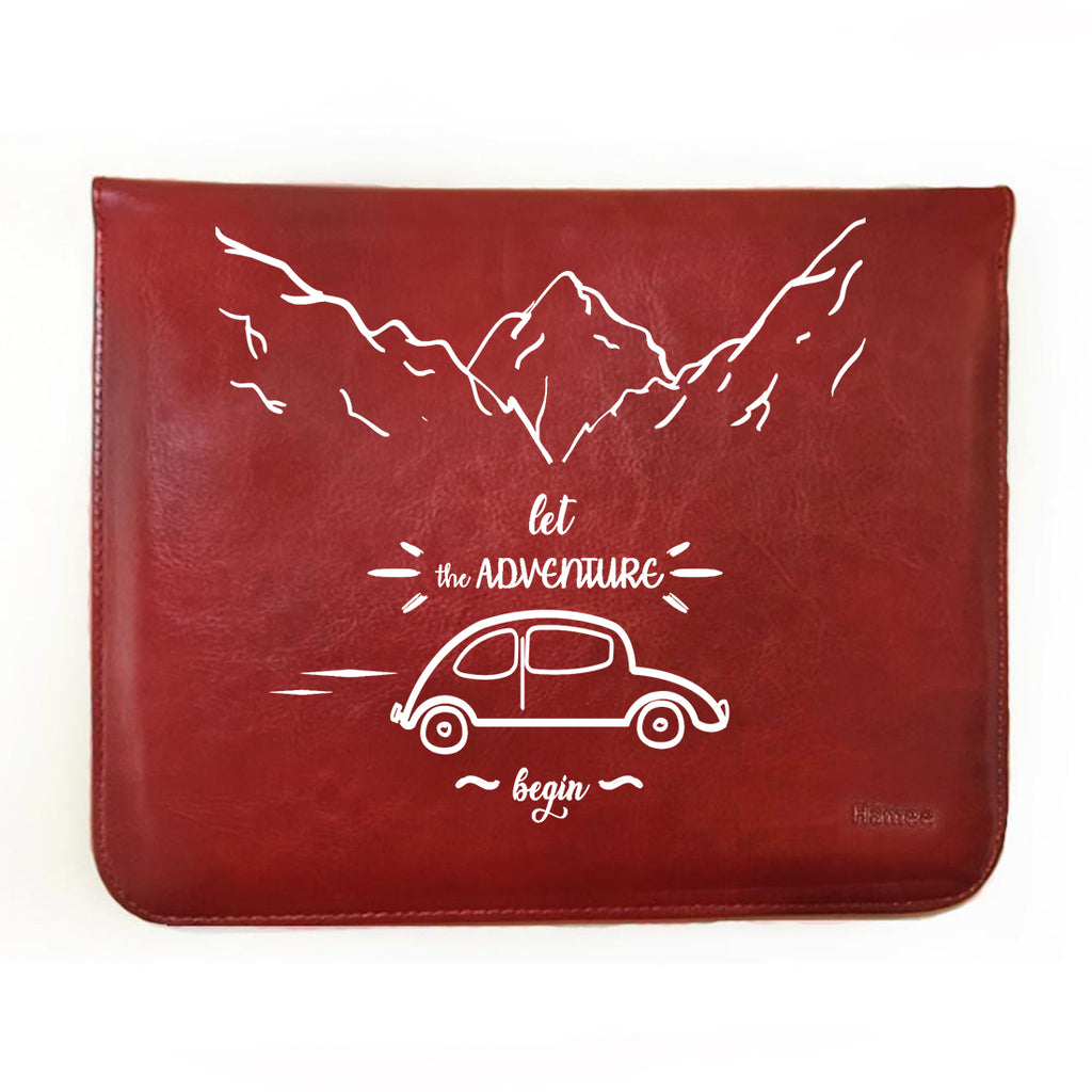 "Let The Adventure Begin 11"" Tablet Sleeve-Hamee India"