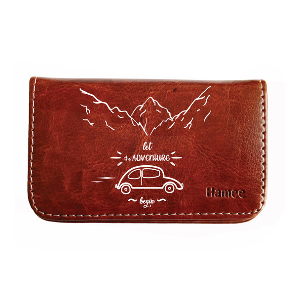 Let The Adventure Begin Business / Visiting Card Holder-Hamee India
