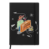 Suitcase Adventure Black A6 Pocket Diary