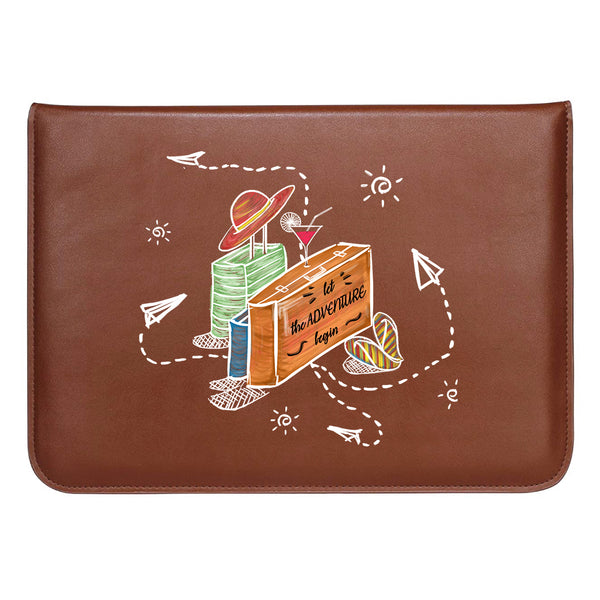 "Suitcase Adventure MacBook Sleeve 13.3""-Hamee India"