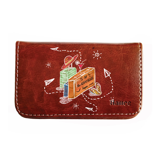 Suitcase Adventure Business / Visiting Card Holder-Hamee India