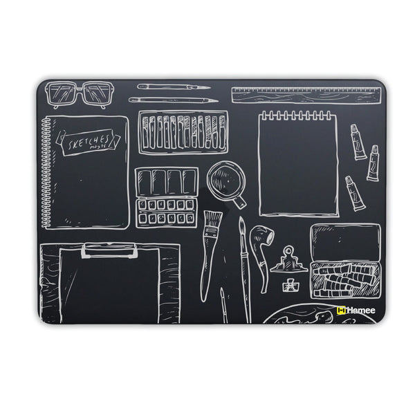 Art Desk Macbook Air 13 Retina (2018) Case-Hamee India