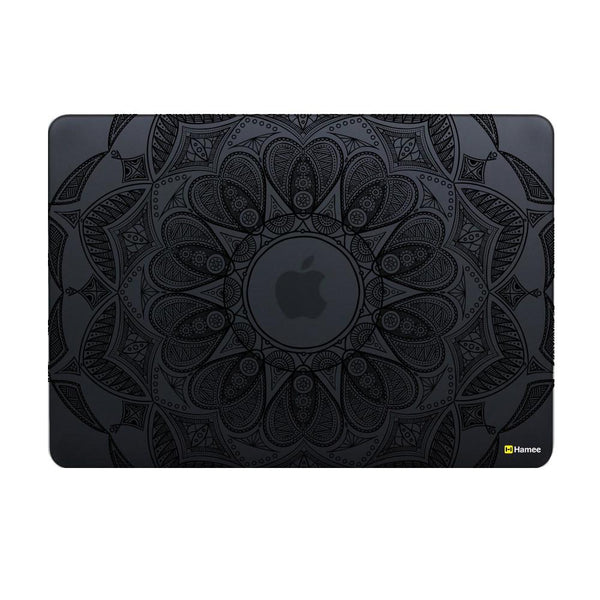 Black Mandala Macbook Air 13 Retina (2018) Case-Hamee India