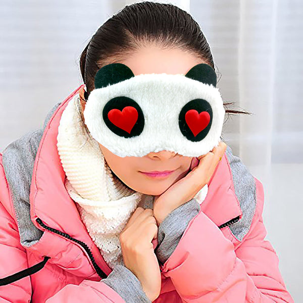 Plush Eye Mask - In Love-Hamee India