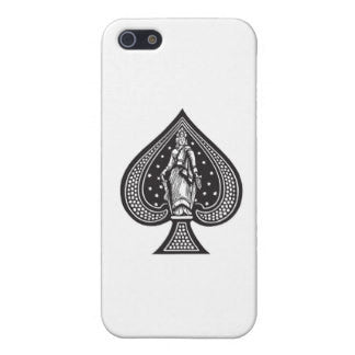 "Hamee Back Cover for Oppo F1s "" Ace of Spades "" - Hamee India"