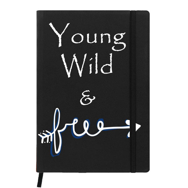 Young, Wild & Free Black A6 Pocket Diary