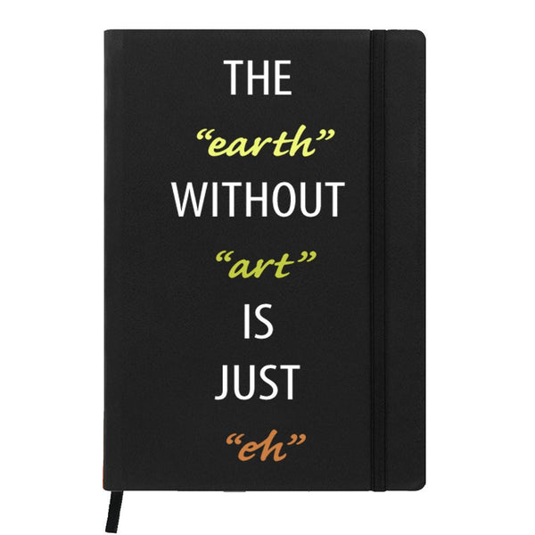 Earth Without Art Black A6 Pocket Diary