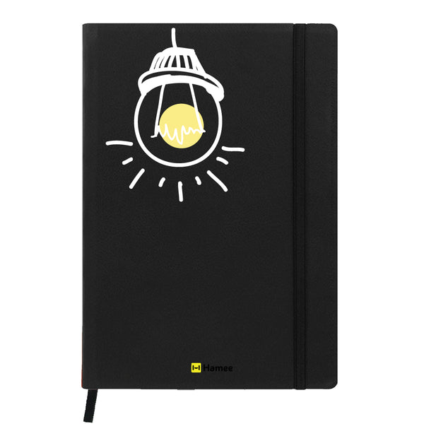 Bulb - Black Notebook-Hamee India