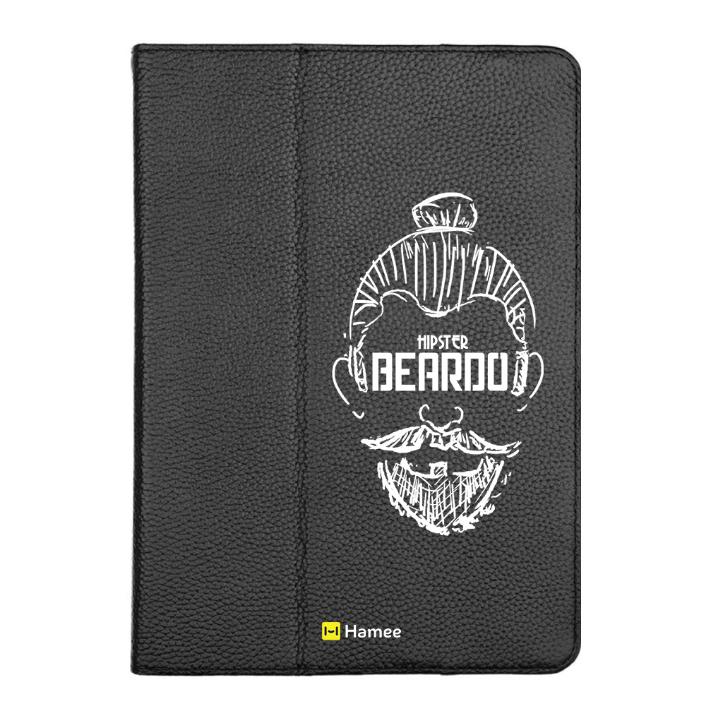 "Beardo - iPad 9.7"" Folio Case Stand (Black)"