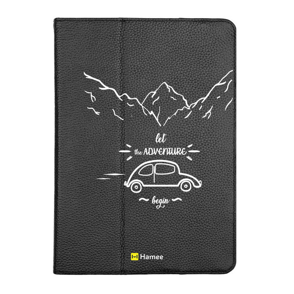 "Adventure - iPad 9.7"" Folio Case Stand (Black)"